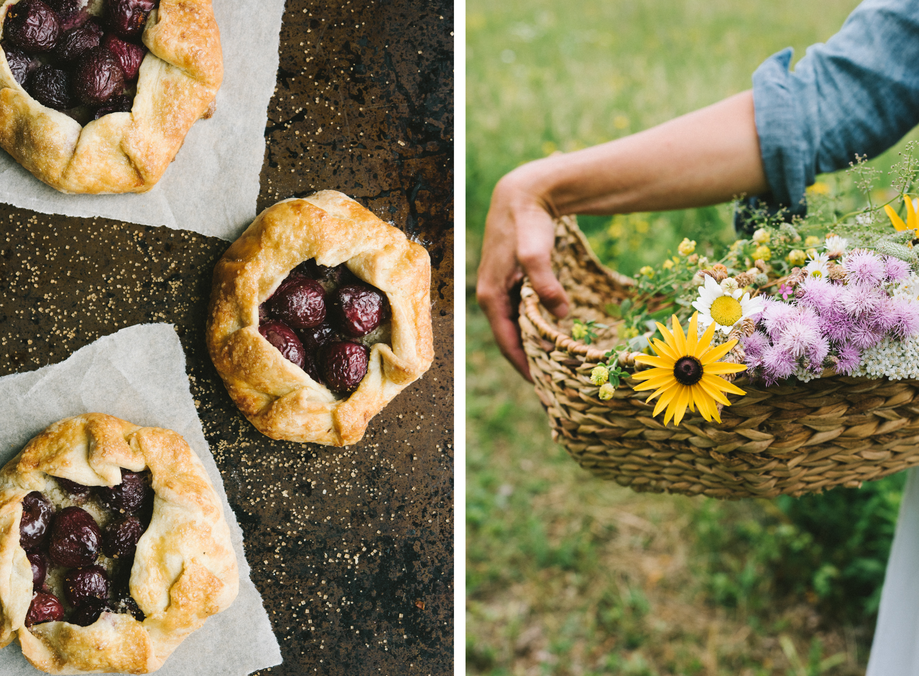 Tartlet Basket Diptych